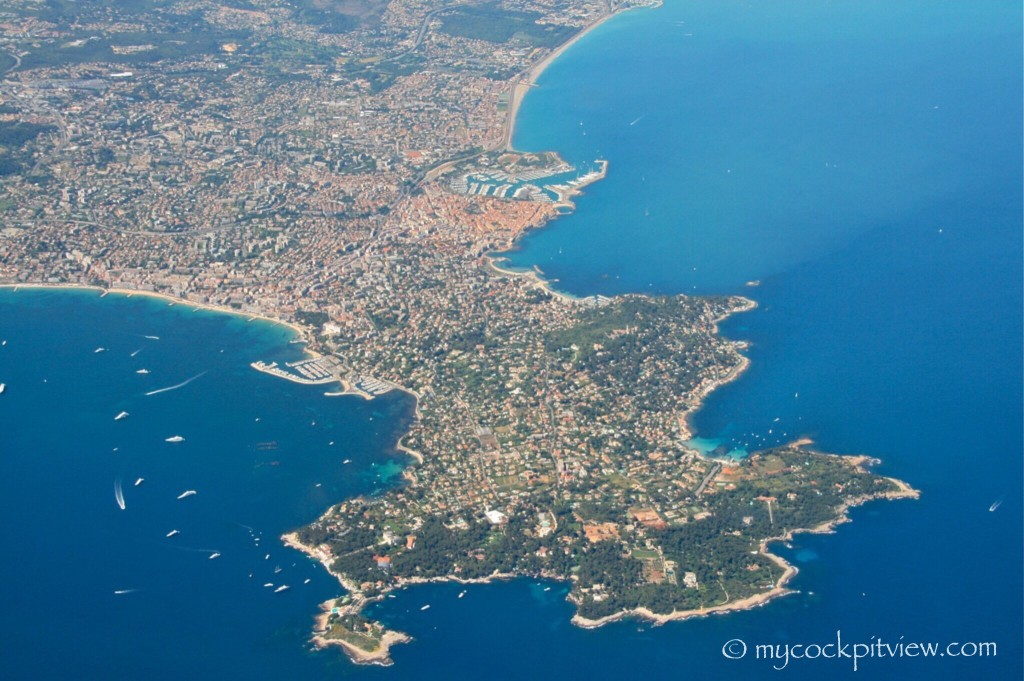 Cap d'Antibes, Côted'Azur, France. Mycockpitview