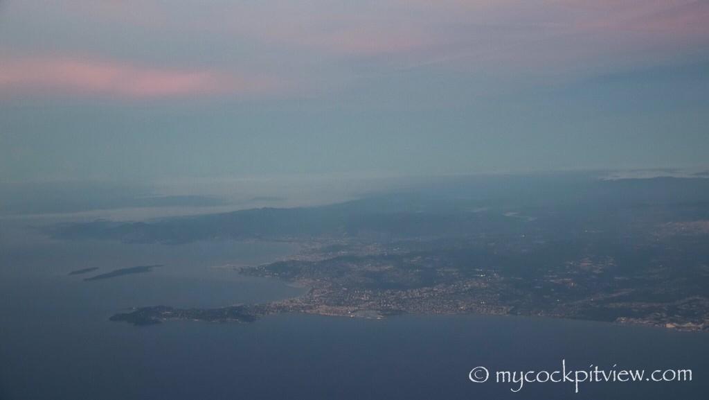 Cap d'Anitibes. Mycockpitview