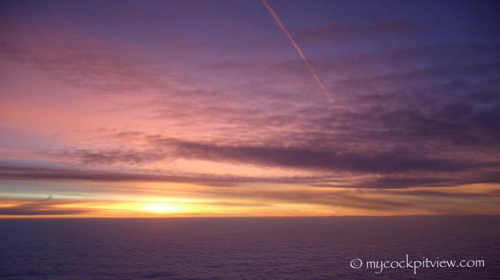 mycockpitview sunset sunrise from above