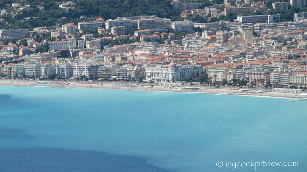 "Negresco and ""promenade des anglais"", Nice. Mycockpitview"