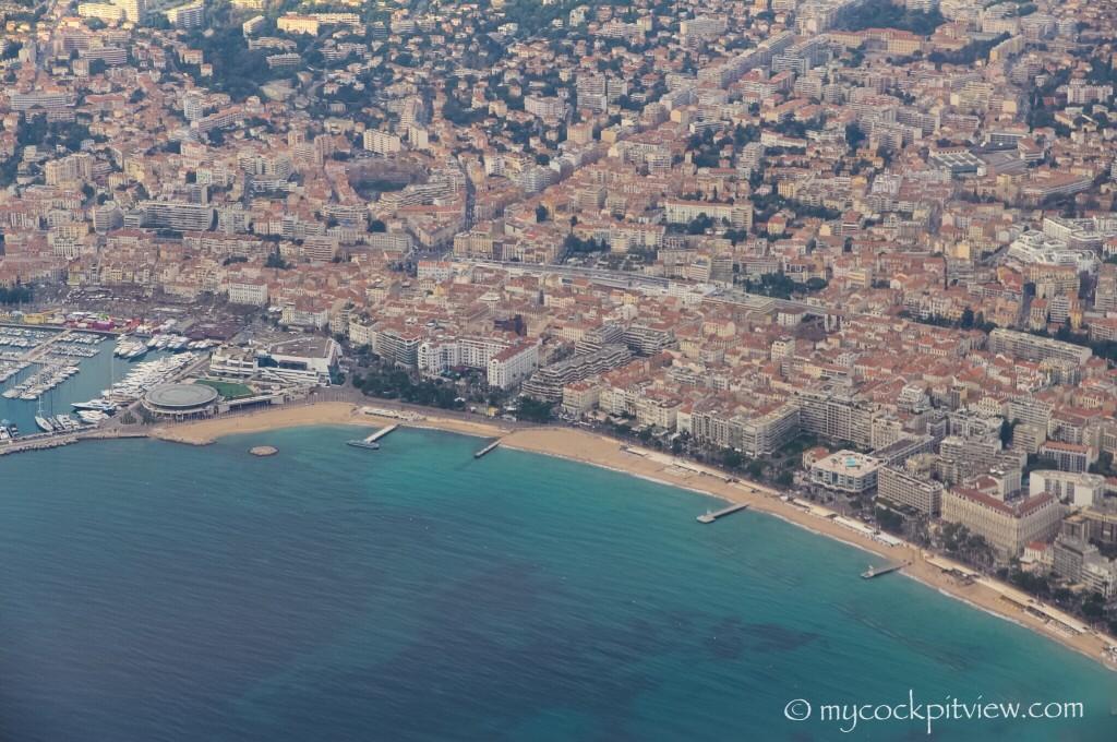 Cannes, France. Mycockpitview