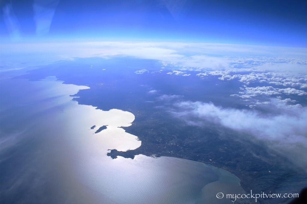French Riviera - Cap d'Antibes - Cannes - Iles de Lérins. Mycockpitview. Cote d'Azur