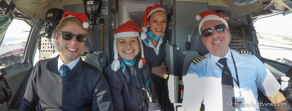 Merry Christmas! Luxair crew mycockpitview