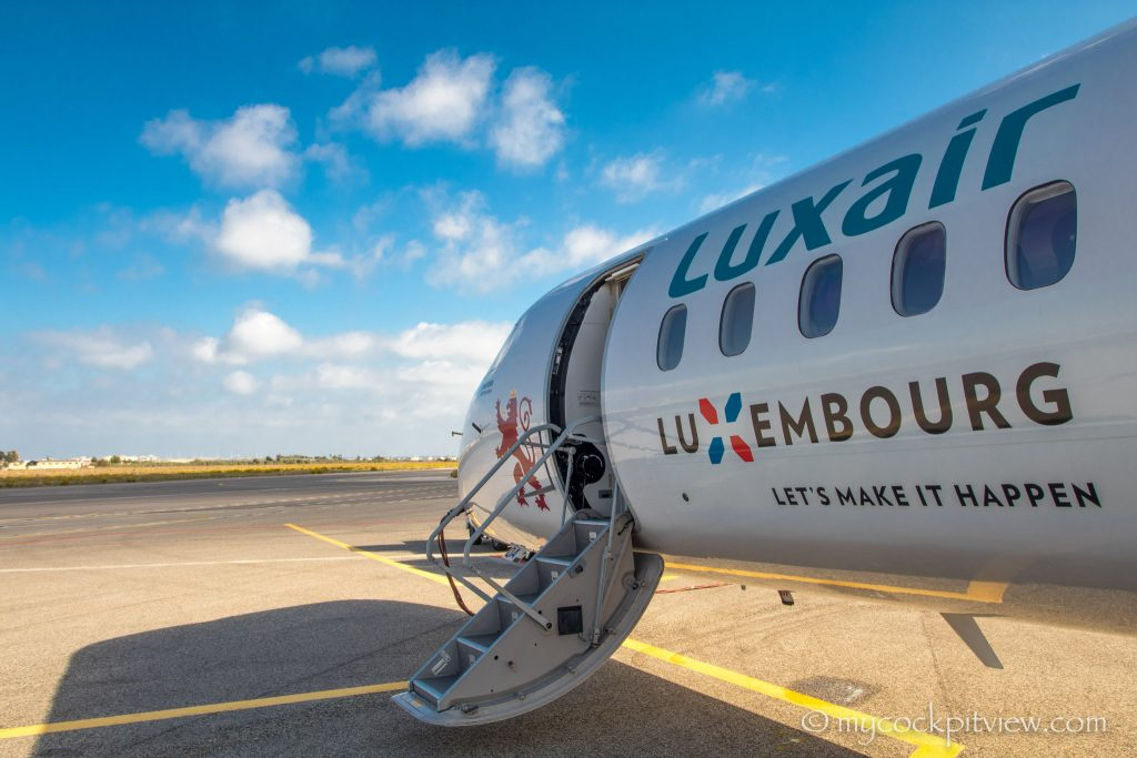 LUXEMBOURG, Let's make it happen! Luxair, mycockpitview