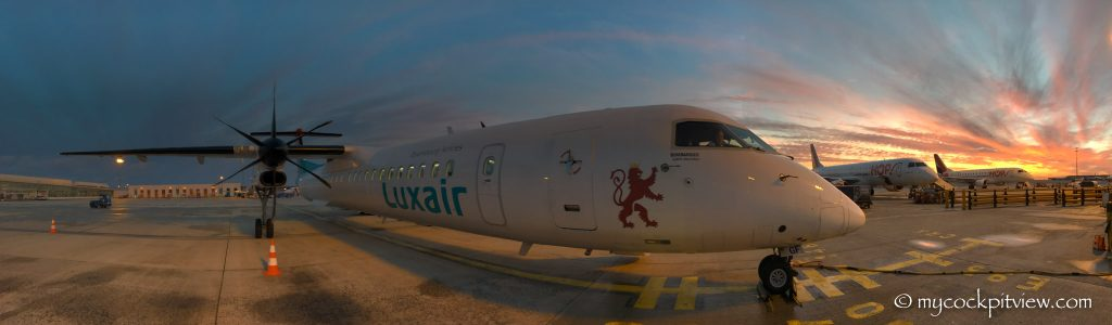 Bombardier Dash 8 Q400, Paris Charles De Gaulle, CDG, LFPG, Mycockpitview