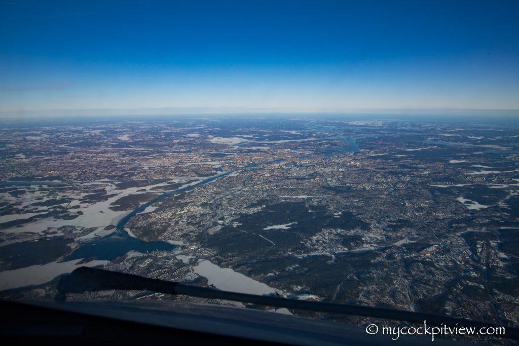 Stokholm, mycockpitview