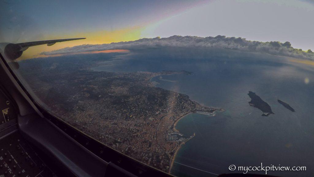 Cannes vue du ciel - Mycockpitview